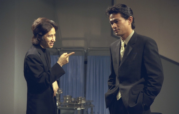 古畑任三郎「赤い洗面器の男」の話が出てきた第38話「最も危険なゲーム」の画像