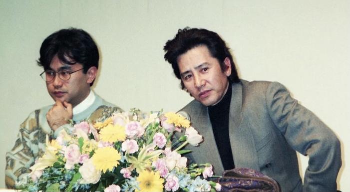 古畑任三郎の脚本家 三谷幸喜さんと主演の田村正和さんの画像