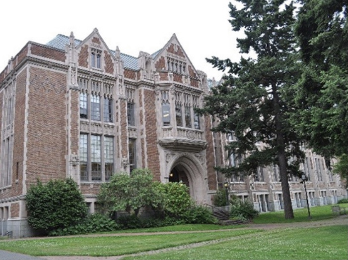 鈴木唯アナが留学していた米ワシントン大学の画像